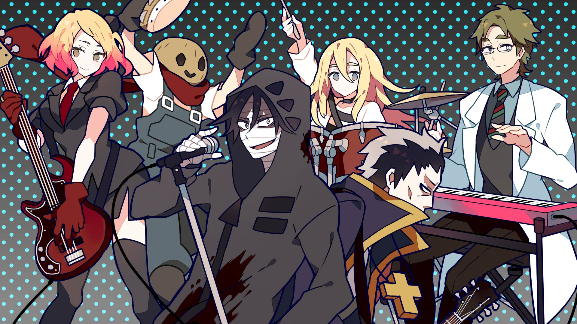 Angels of death or satsuriku no tenshi which roughly translates to angels of slaughter is an anime based on a horror game by hoshikuzu krnkrn